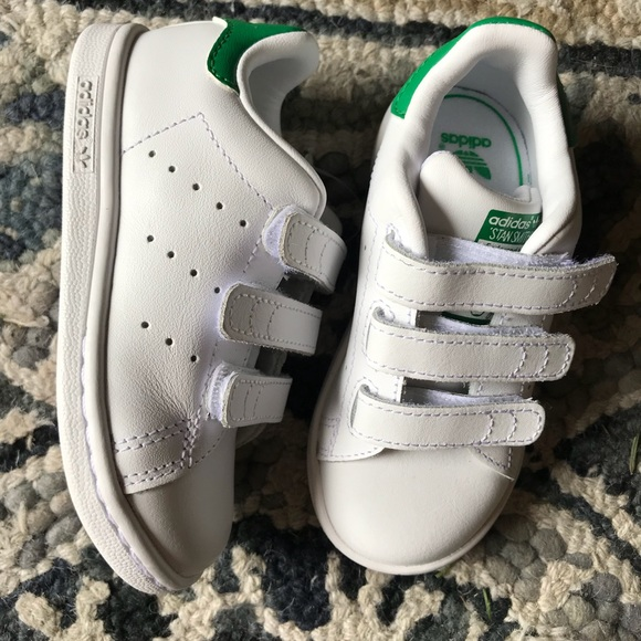 size 40 d2fdd 087d6 Adidas Stan Smith Toddler Boys Shoes Sz 7